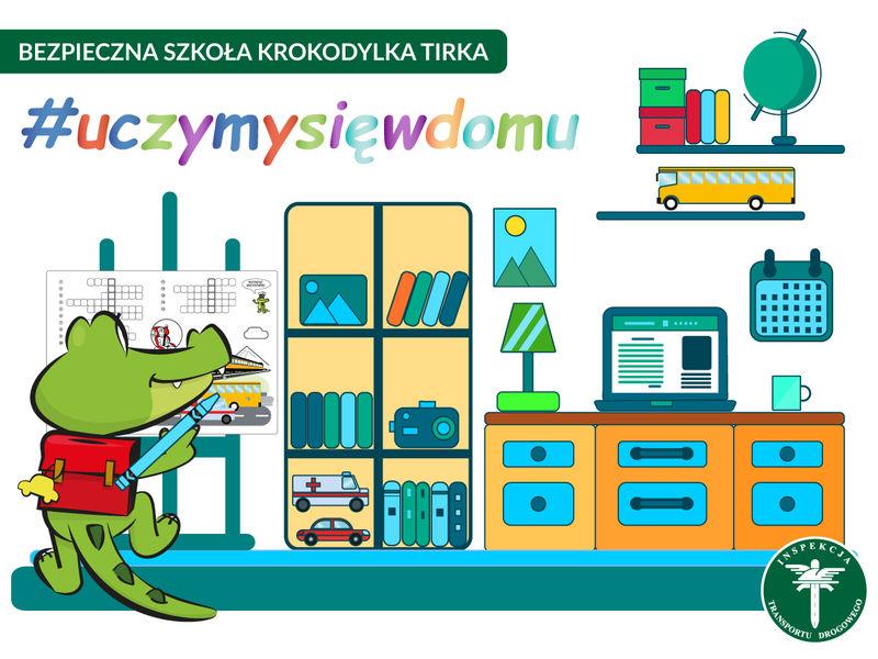 Bezpieczna szkoła krokodylka Tirka